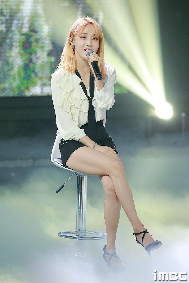 [포토] '쇼챔피언' 마마무 문별, 입가에 떠오른 미소