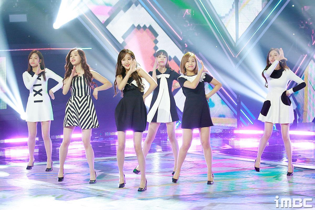 [포토] '쇼챔피언' 에이프릴, 한층 성숙함으로 돌아온 소녀들