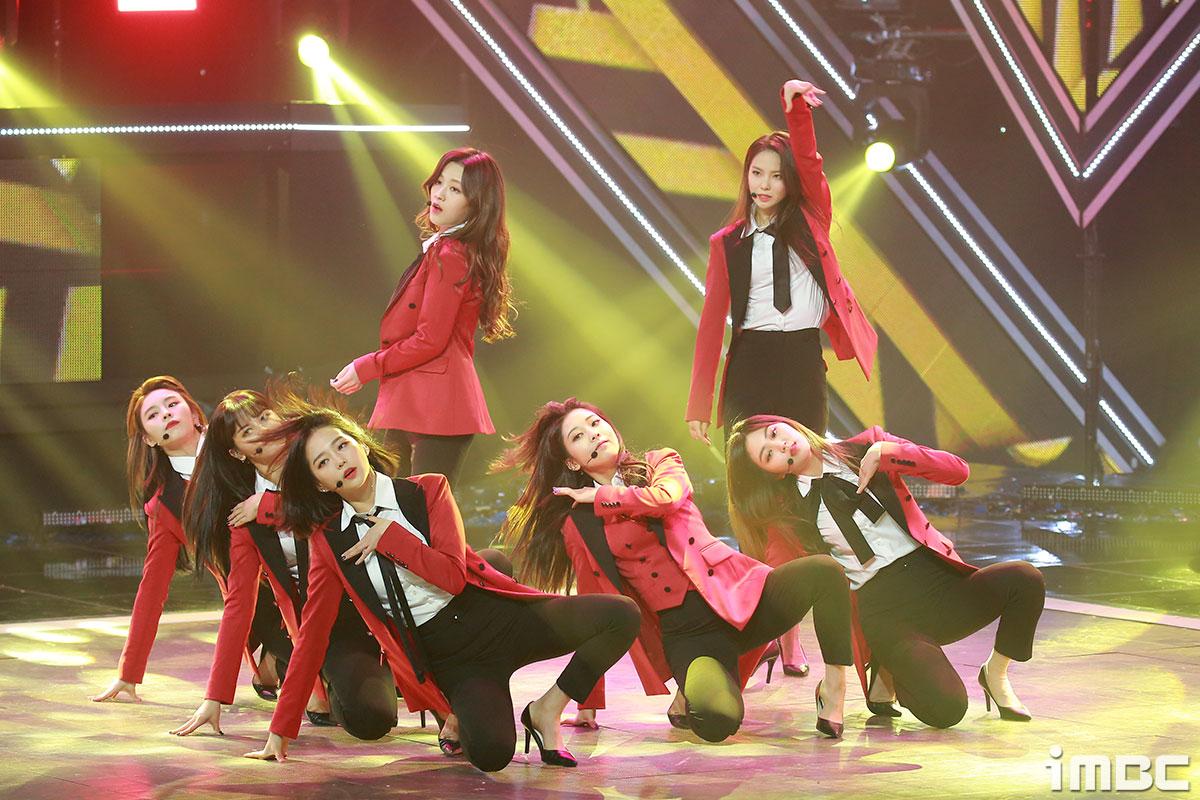 [포토] '쇼챔피언' CLC, 강렬한 레드