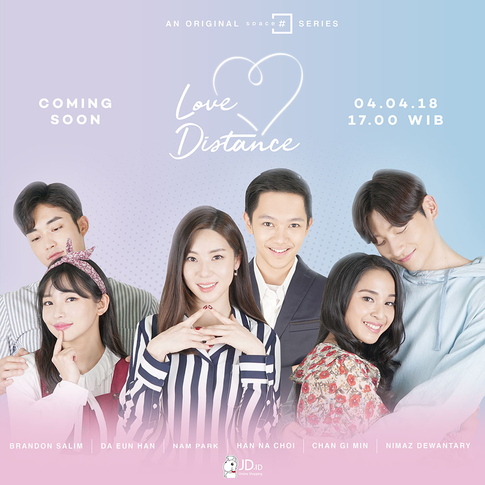 한국-인도네시아 최초 합작 웹드라마 '러브디스턴스', 주연 한다은에 기대감↑