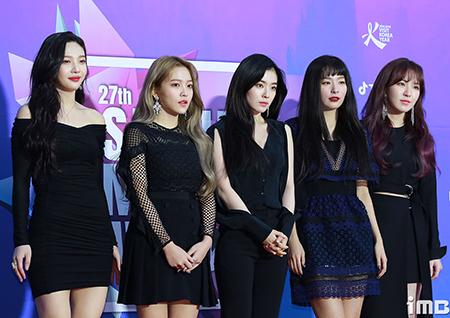 '평양 공연' 레드벨벳, 4월 걸그룹 브랜드평판 1위! '3개월 연속'