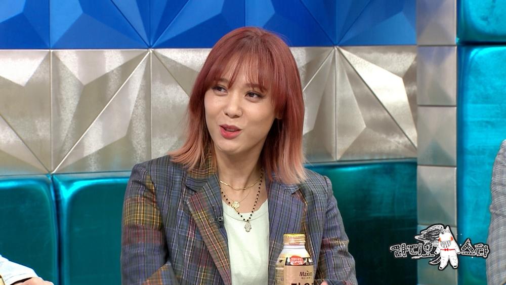 '라디오스타' 윤미래, 타이틀곡 아들 조단이 고른다...'떡잎부터 다르네~'