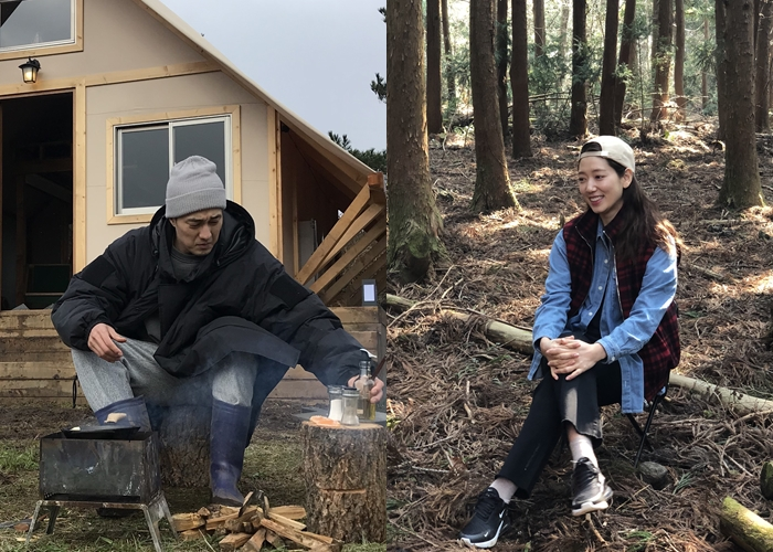 소지섭-박신혜, 제주도에서 '소확행' 찾기
