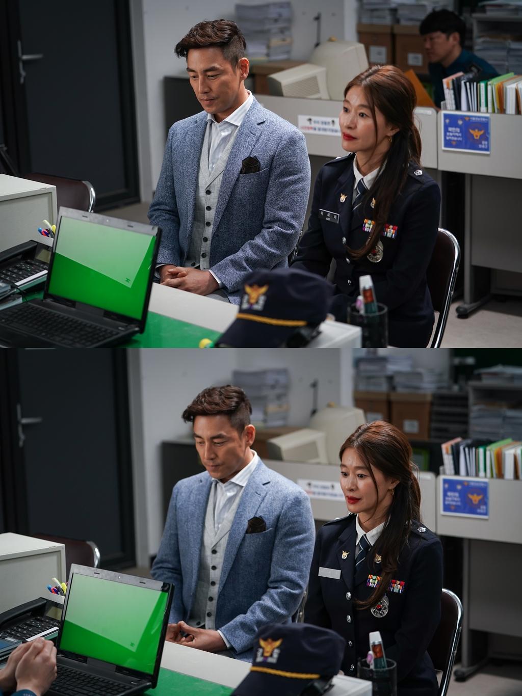 '키스 먼저 할까요' 김성수X예지원, 부부동반 경찰서 行... 무슨 일?