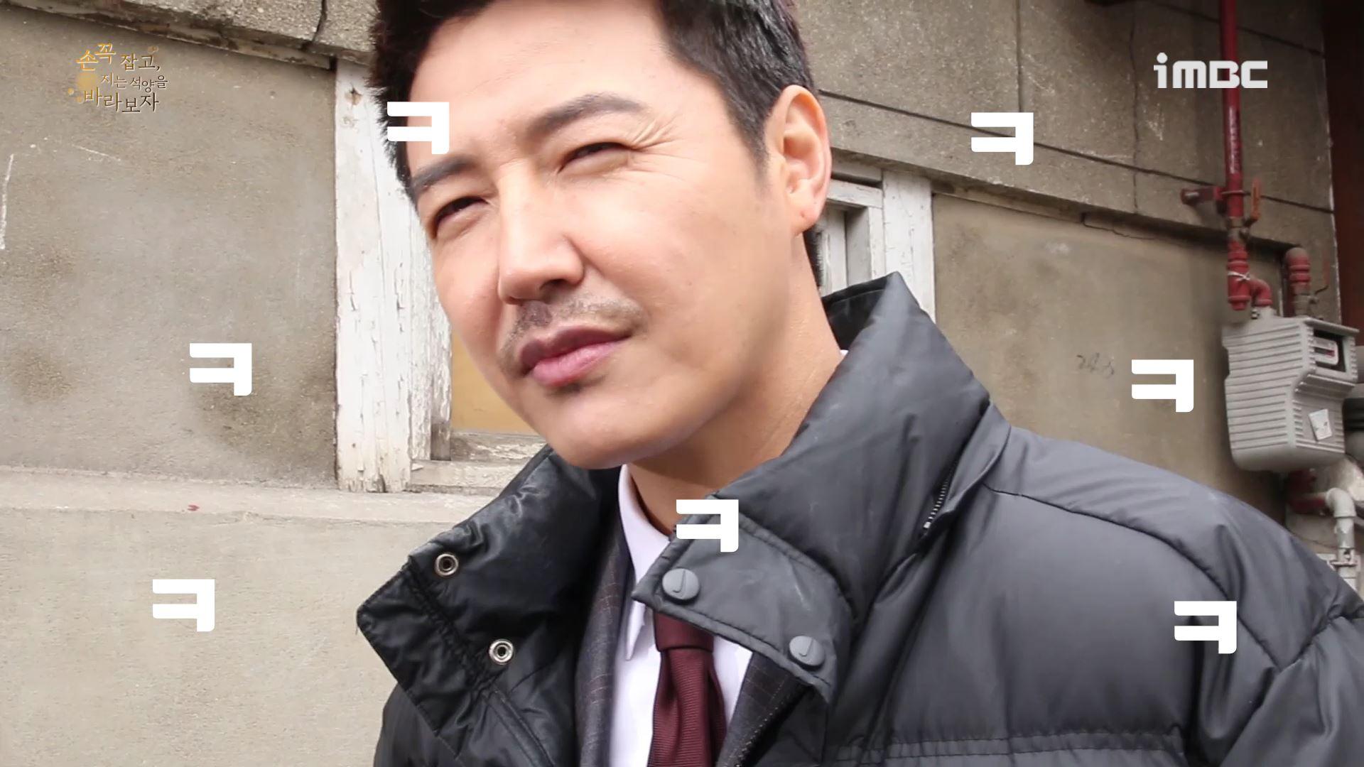 [M플레이] '손 꼭 잡고' 윤상현VS김태훈, 카메라 밖 개그 본능! '분량 승자 나야 나~'
