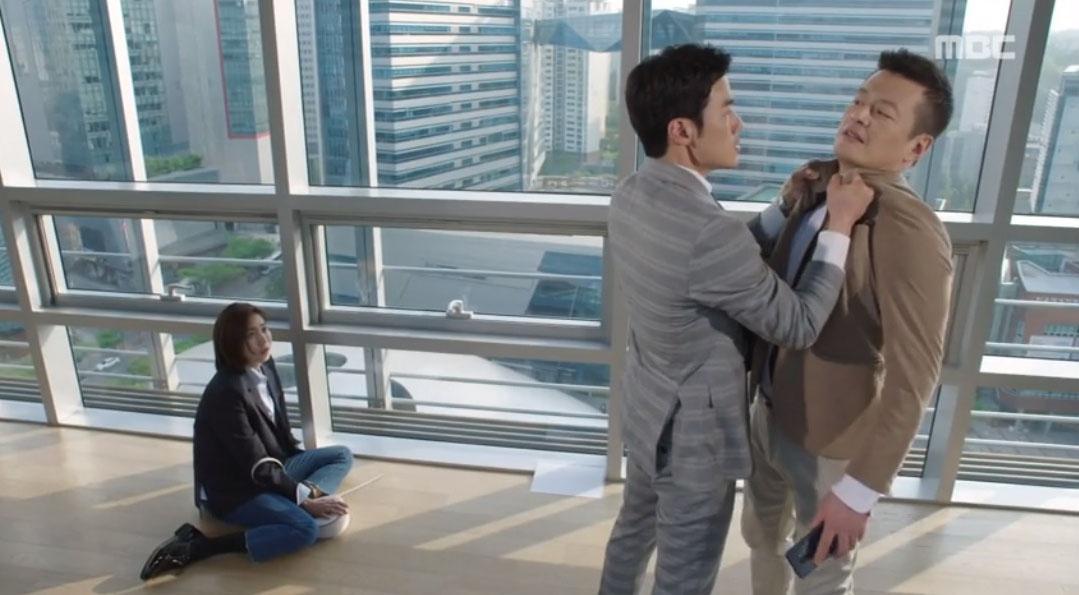 '데릴남편 오작두' 유이에게 폭력 휘두르는 정찬 목격한 김강우 '분노' 이미지-2