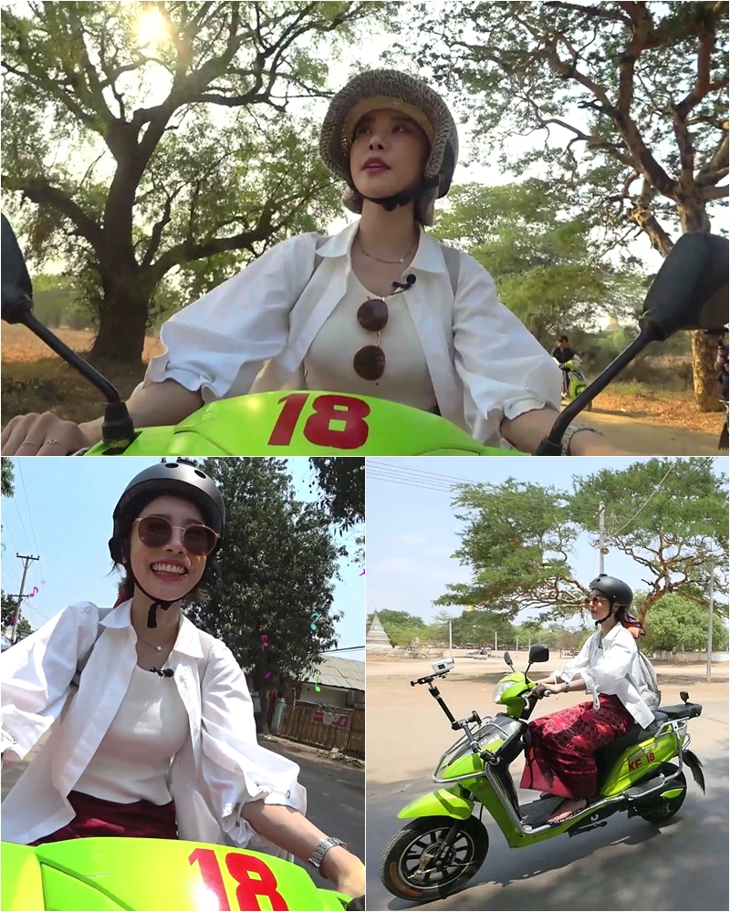 '배틀트립' 걸스데이 소진, 거침없는 미얀마 질주 #프로 라이더 #걸크러쉬