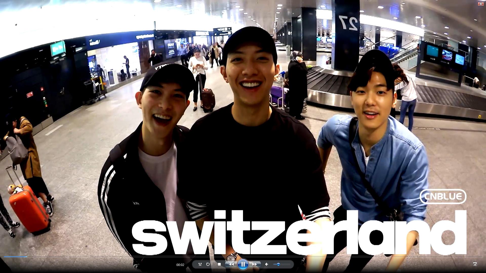 'CNBLUE, 스위스와 사랑에 빠지다' 티저영상 오늘 공개, 본영상 공개는 21일부터!