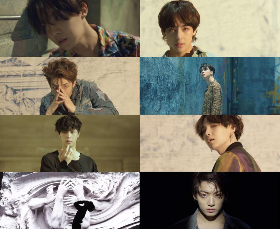 '컴백 D-1' 방탄소년단, 타이틀곡 'FAKE LOVE' 티저 속 강렬한 퍼포먼스 '궁금증↑'