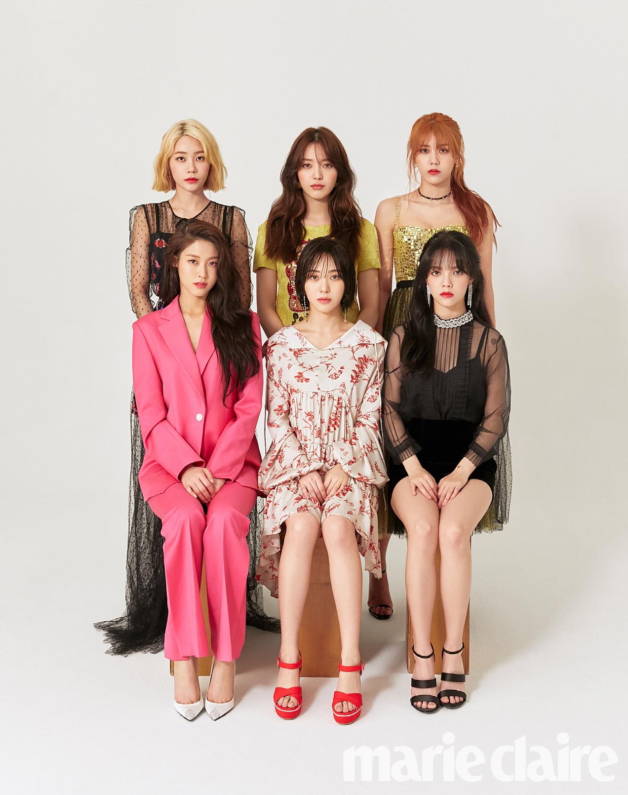 """컴백 앞둔 AOA 단체 화보 공개! """"함께 있을 때가 가장 행복해"""""""