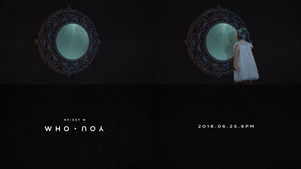 뉴이스트 W, 컴백 앨범명은 'WHO, YOU'…'프롤로그 클립' 영상 공개 '신비+몽환'