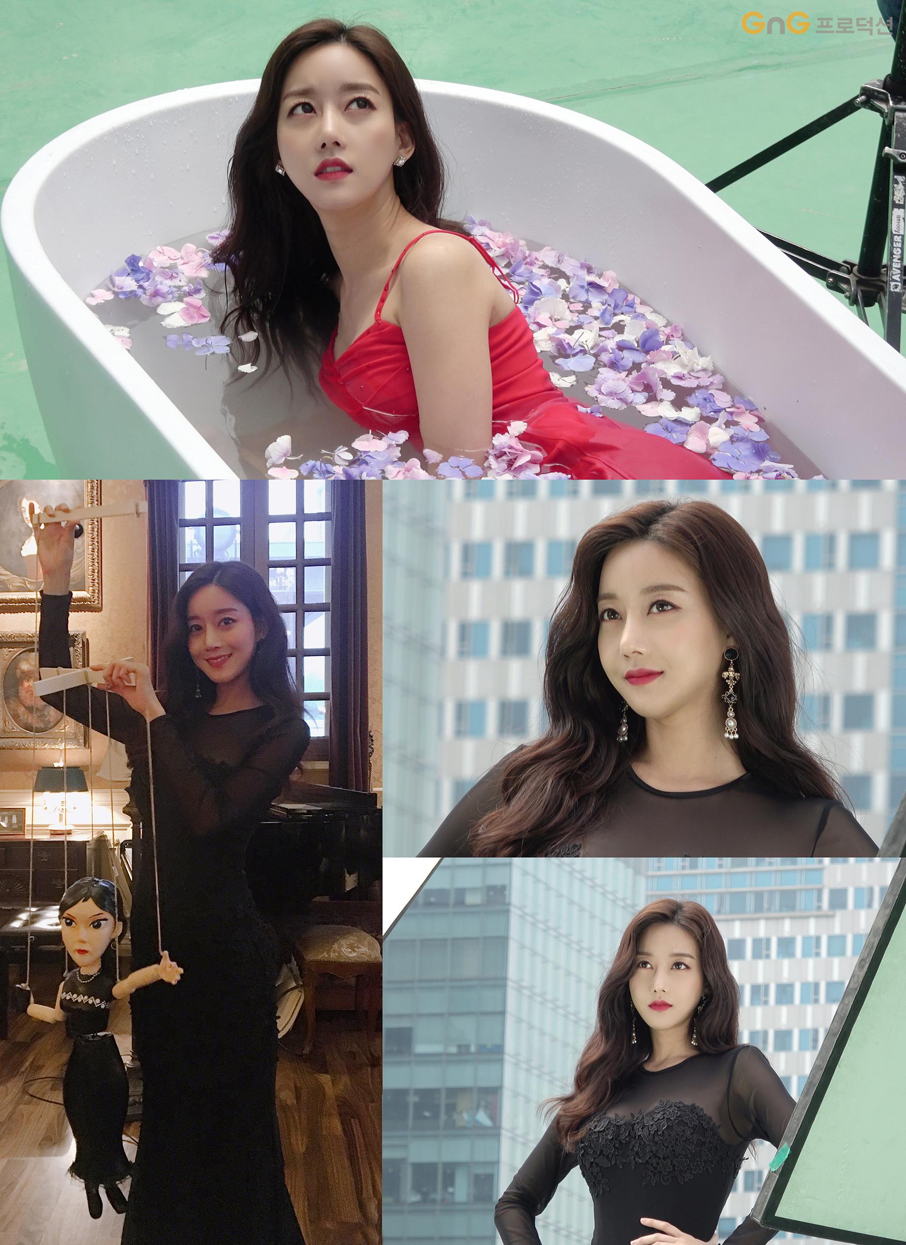 '비밀과 거짓말' 오승아, 도도함 가득한 포스터 촬영 비하인드… 색다른 악녀 변신 완료