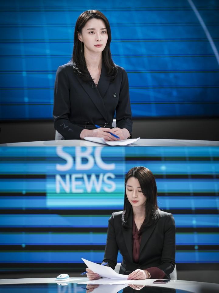 '친애하는 판사님께' 나라, 아나운서 연기 도전... SBS 조정식-김선재 아나운서 특별 지도