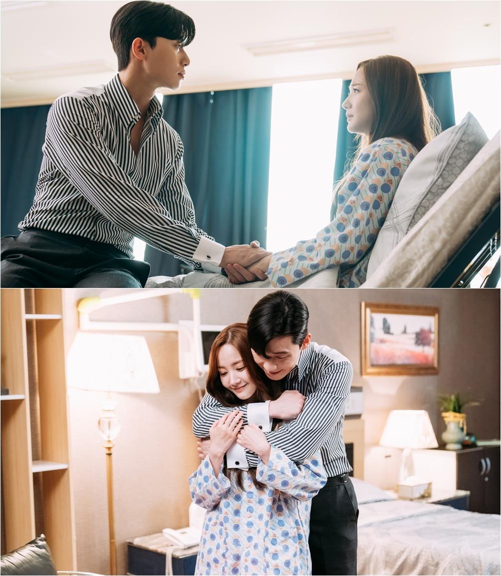 '김비서' 박서준-박민영, 한층 더 견고해진 로맨스! 달달 백허그 포착