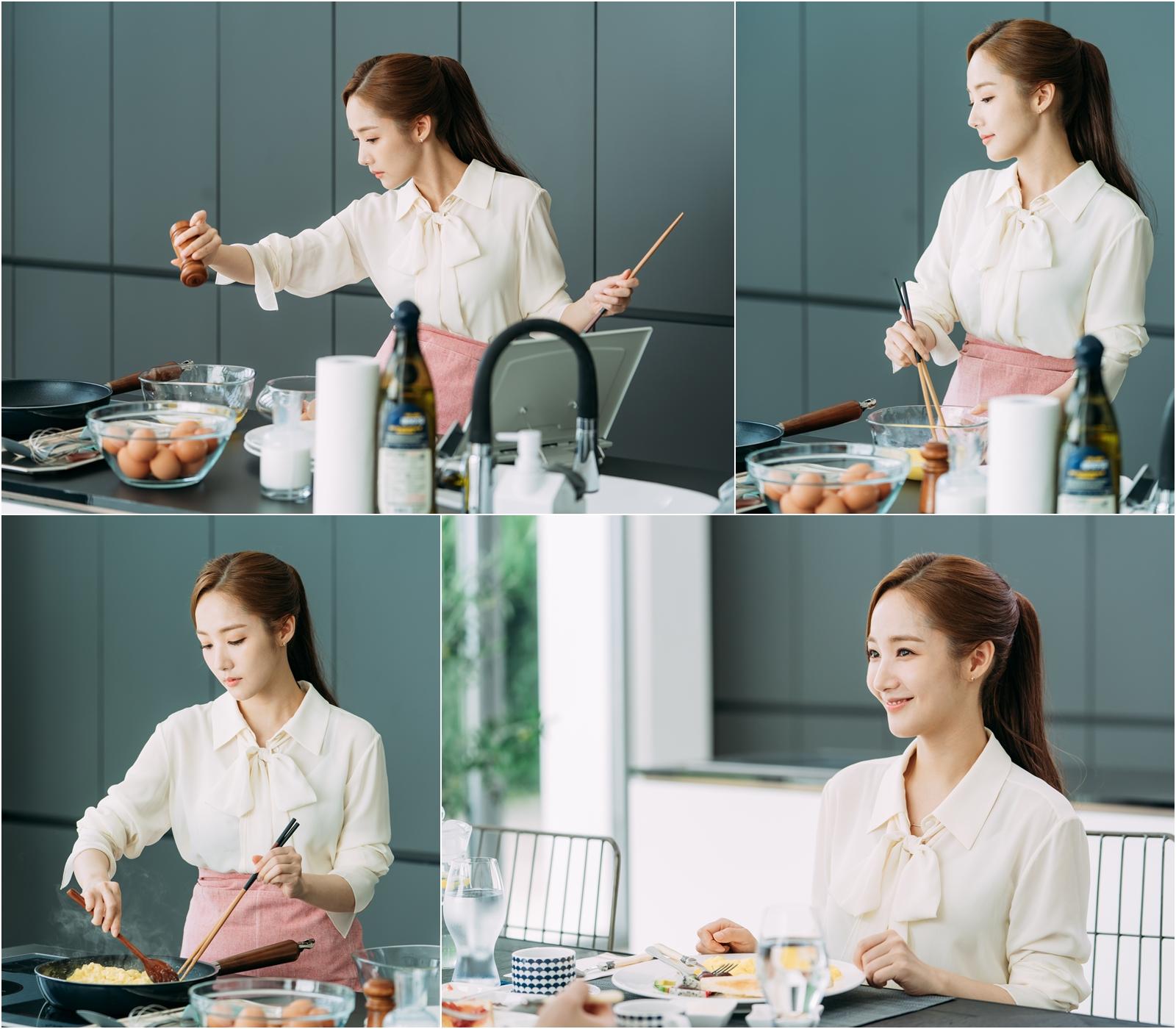 '김비서' 박민영, 일일 셰프로 변신! 과연 요리 실력은?