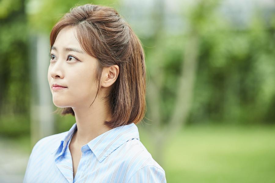 '이별이 떠났다' 조보아-이준영, 촬영장 빛내는 '요정 커플' 등극