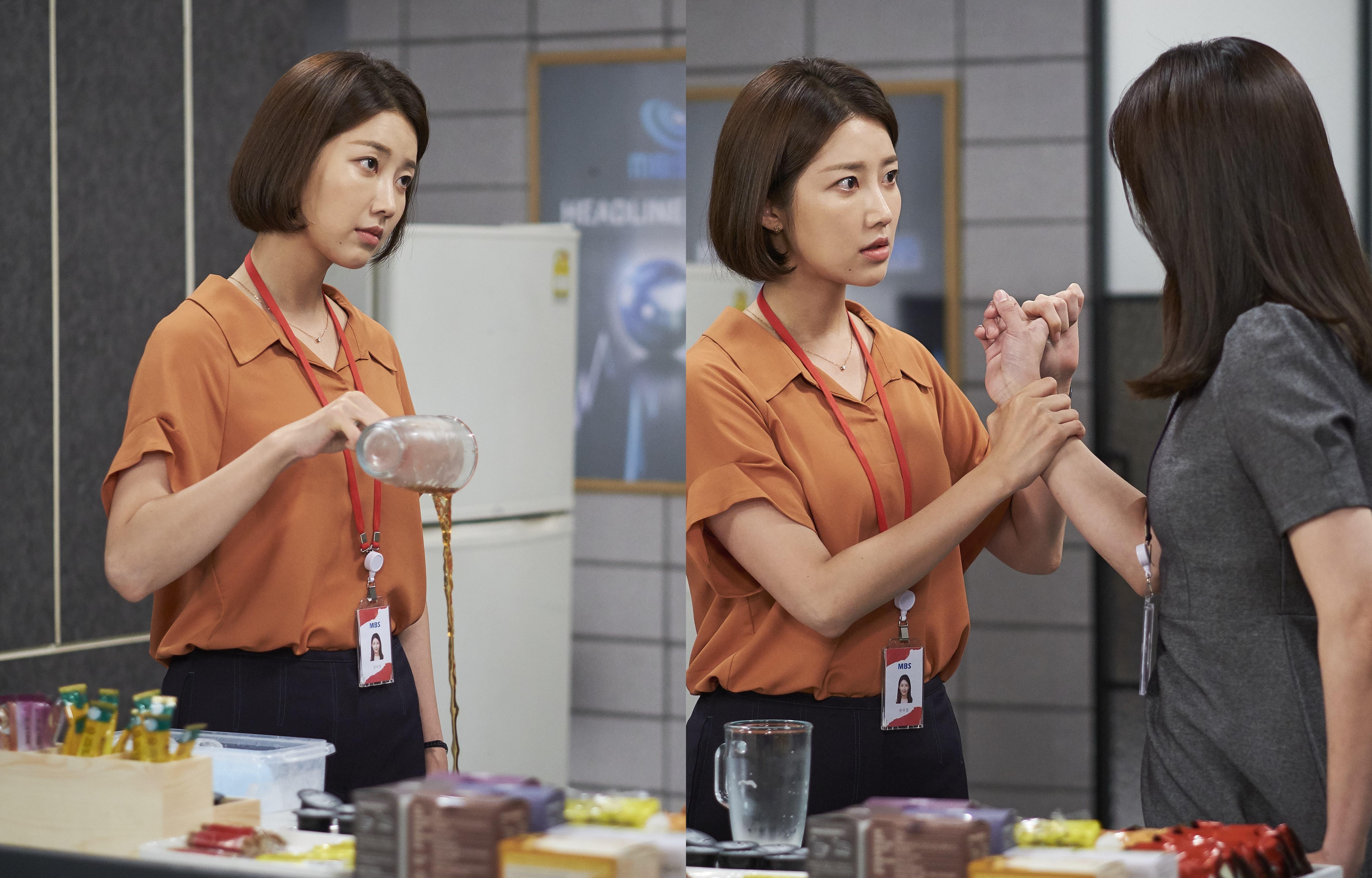 '비밀과 거짓말' 동시간대 시청률 1위...불꽃눈빛X손목꺾기 포착