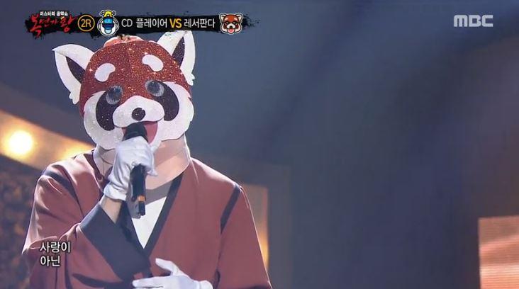 '복면가왕' 레서 판다의 '멀어지다', 동영상 클립 조회수 1위 기록