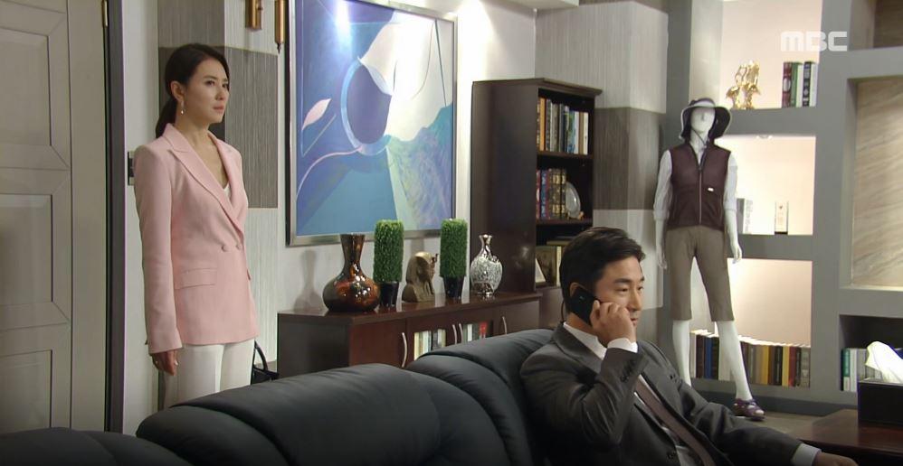 '비밀과 거짓말' 오승아, 전노민에게 서해원이 '친딸'인 사실 밝혔다!