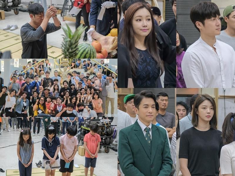 '숨바꼭질' 이유리·송창의·엄현경·김영민, '대박 기원' 고사 현장 공개