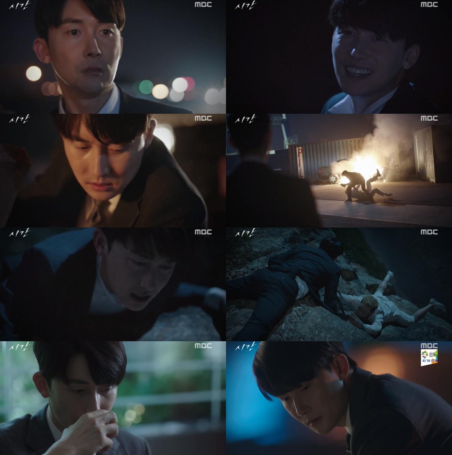 '시간' 김준한, 완벽한 '흑화'… 또 다른 얼굴을 기대하게 하는 열연