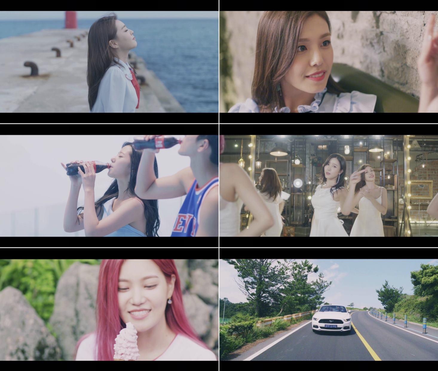 베리굿, 첫 정규앨범 수록곡 'Mellow Mellow' 티저서 청순 매력 발산