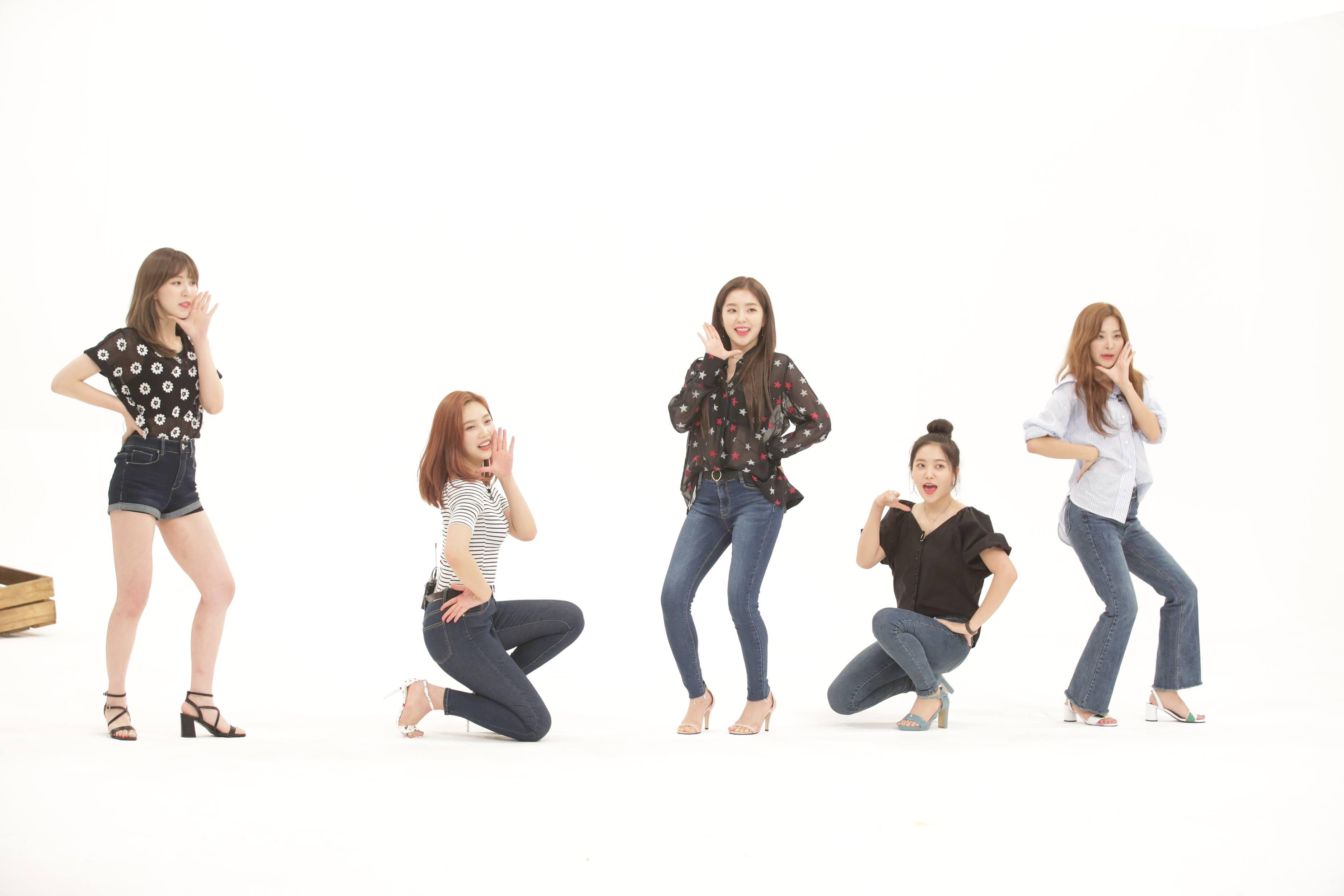 레드벨벳, 'Power Up' 2배속 댄스 최초 공개! 역대급 비트 등장