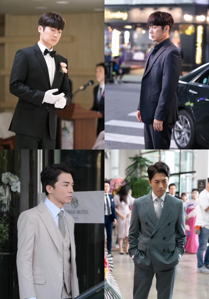 '숨바꼭질' 송창의-김영민, 어른 남자의 매력 뿜뿜! 완벽 슈트핏 '눈길'