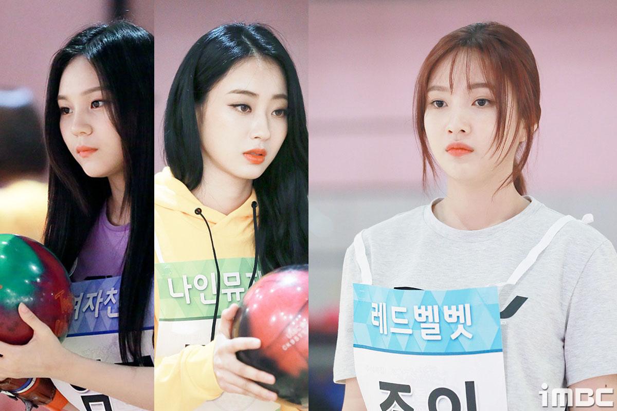 [PICK아이돌] '추석특집 2018 아육대' 카메라 밖 아이돌은? #볼링연습 #나뮤 #레벨 #여친
