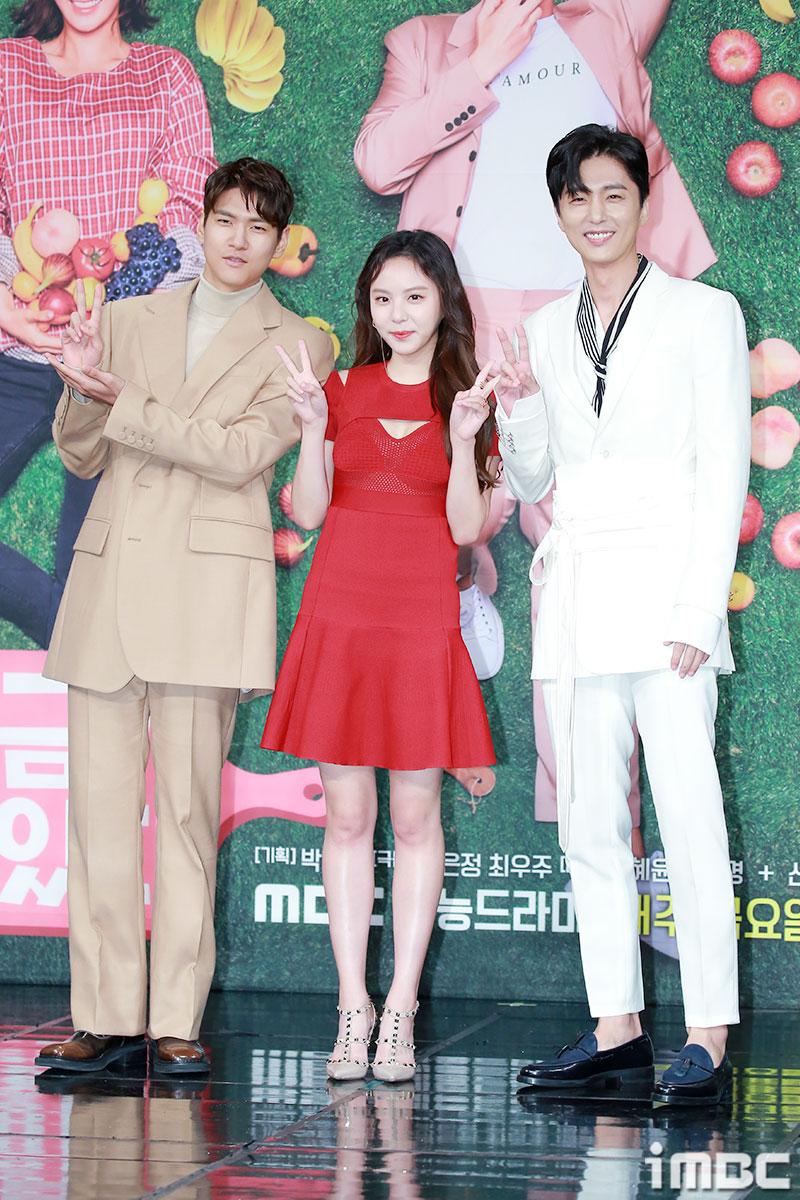 [포토] '대장금이 보고있다' 김현준-이열음-신동욱, 초능력남매의 귀여운 포토타임