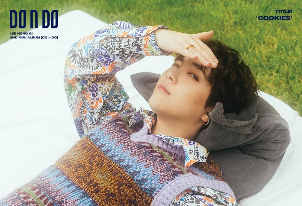 '자유로운 영혼' 이홍기, 새 앨범 콘셉트 포토 공개··· 'DO n DO' 오는 18일 발매
