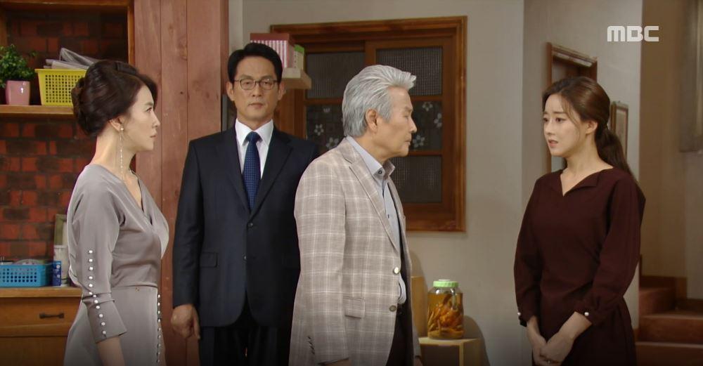 '비밀과 거짓말' 오승아, 결혼식 직전 '가짜 손자' 진실 밝히려는 김혜선에 경악!