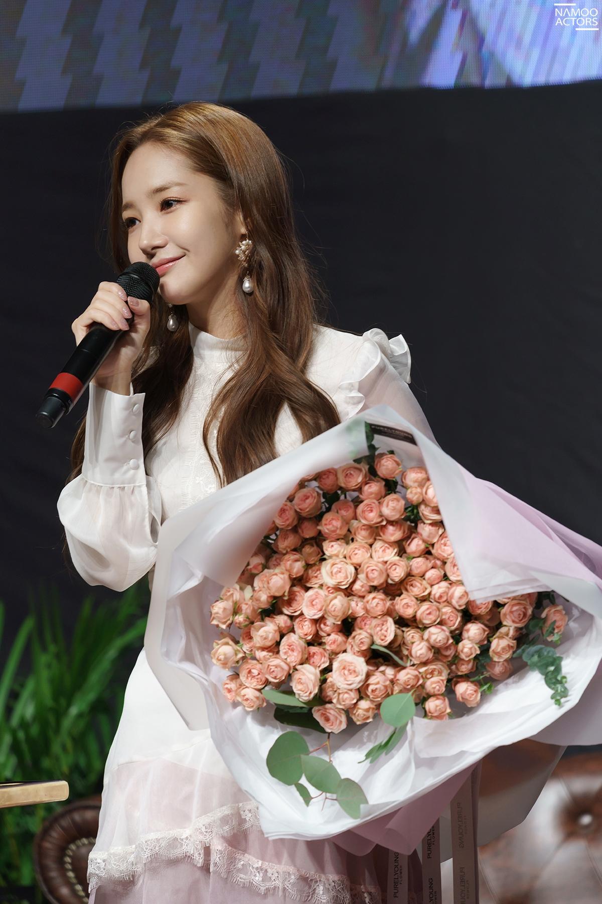 """""""세상에서 누구보다 행복해"""" 박민영, 첫 공식 '팬미팅' 성공적으로 마무리"""