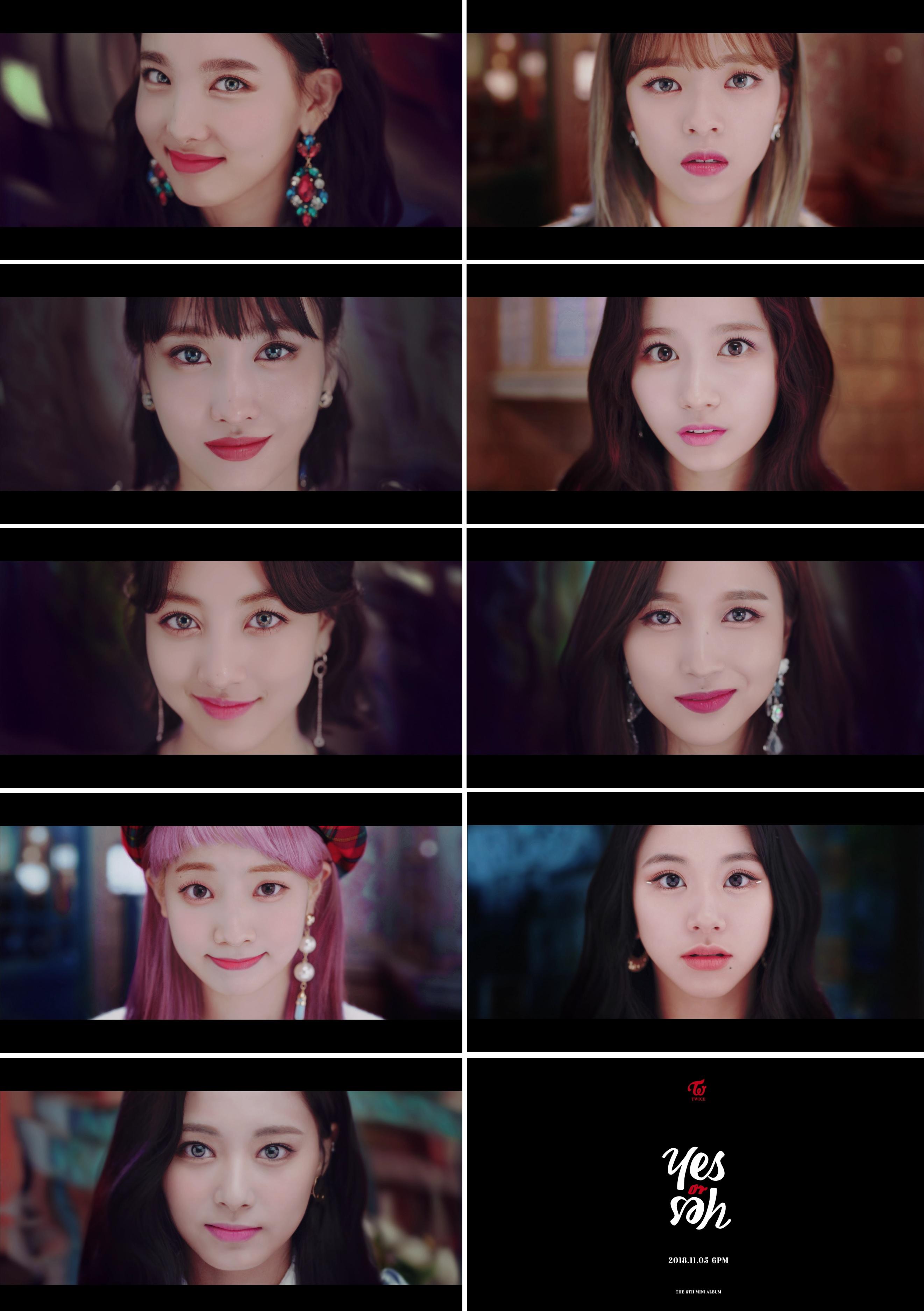 "Yes Or No Tarot Spreads: 트와이스, 신곡 'YES Or YES' MV 티저 영상 첫 공개...""빠져드는 매력"""