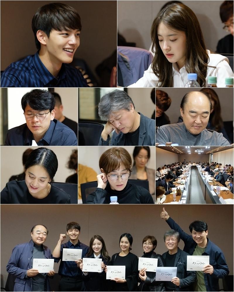 여진구-이세영, 영화 '광해' 리메이크작 '왕이 된 남자' 출연! 대본리딩 현장 공개