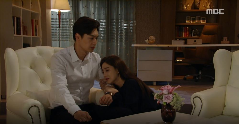 """'비밀과 거짓말' 오승아, 의심하는 이중문 거짓말로 회유 """"내 전부를 걸어 사랑해요!"""""""