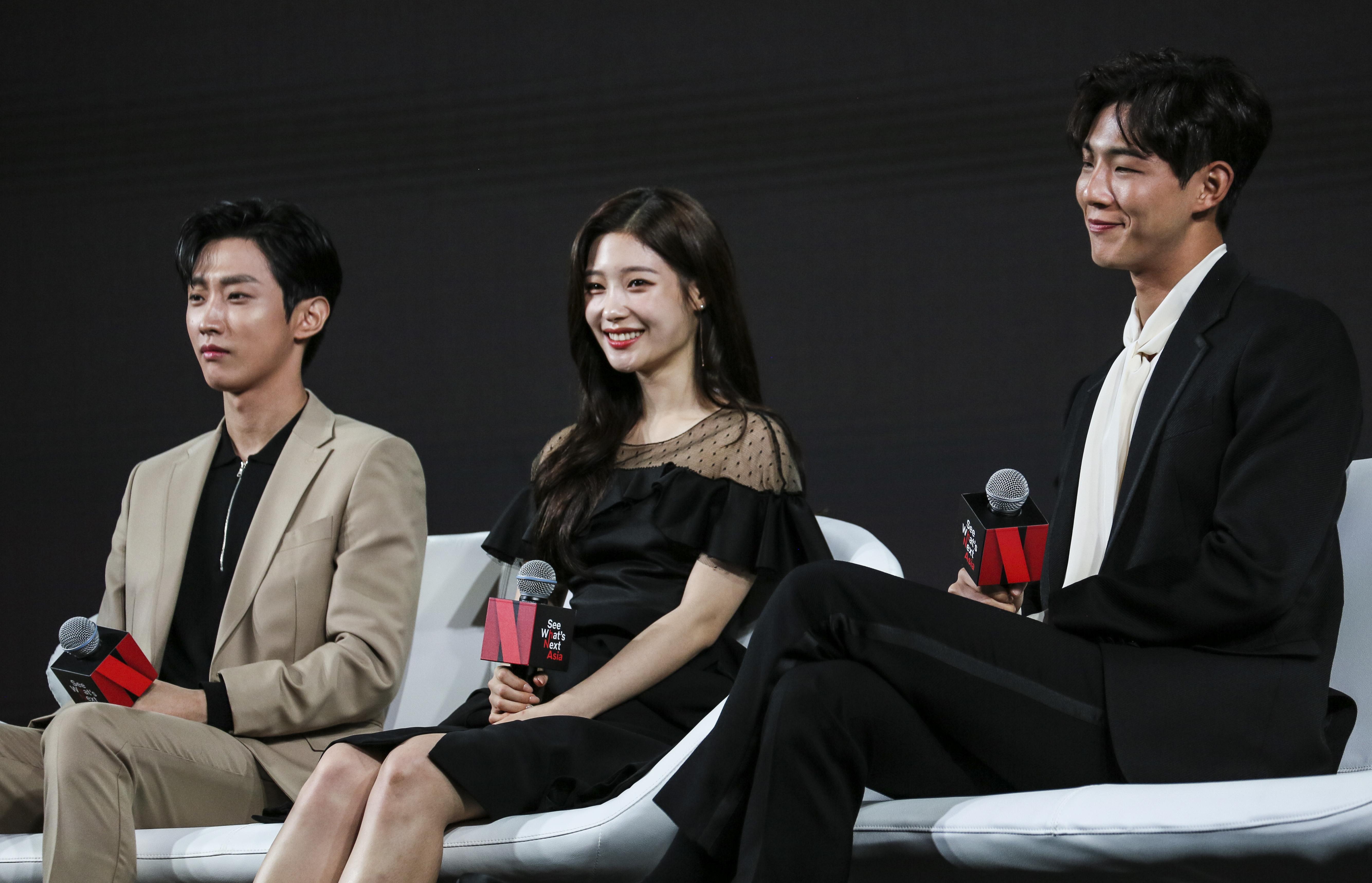 """'첫사랑은 처음이라서' 진영, 지수, 정채연 """"극중 인물이 실제의 우리와 닮았다"""""""
