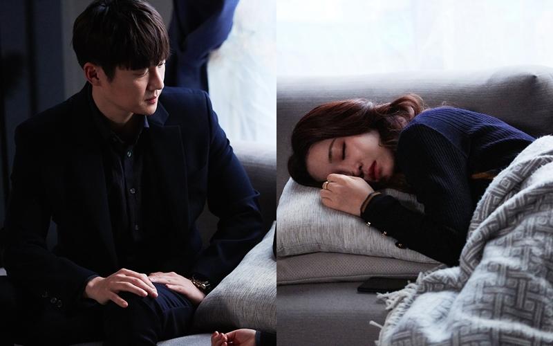 '숨바꼭질' 이유리♡송창의, 숨멎 아이컨택 순간 포착! '로맨틱 위로'란 이런 것!