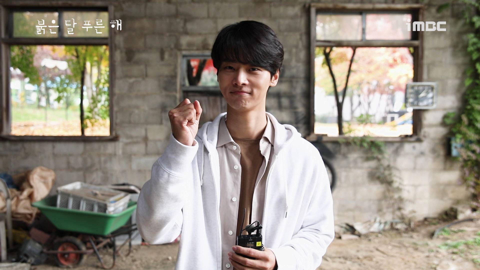 """'붉은 달 푸른 해' 차학연, """"부서질 듯한 아름다움"""" 자기애 충만한 캐릭터 소개"""