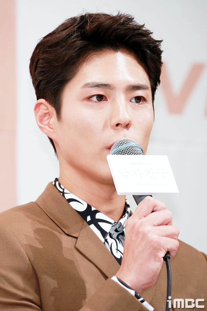 """'남자친구' 박보검, """"많은 분들이 그 머리로 촬영할 거냐고 물어"""" 폭소"""