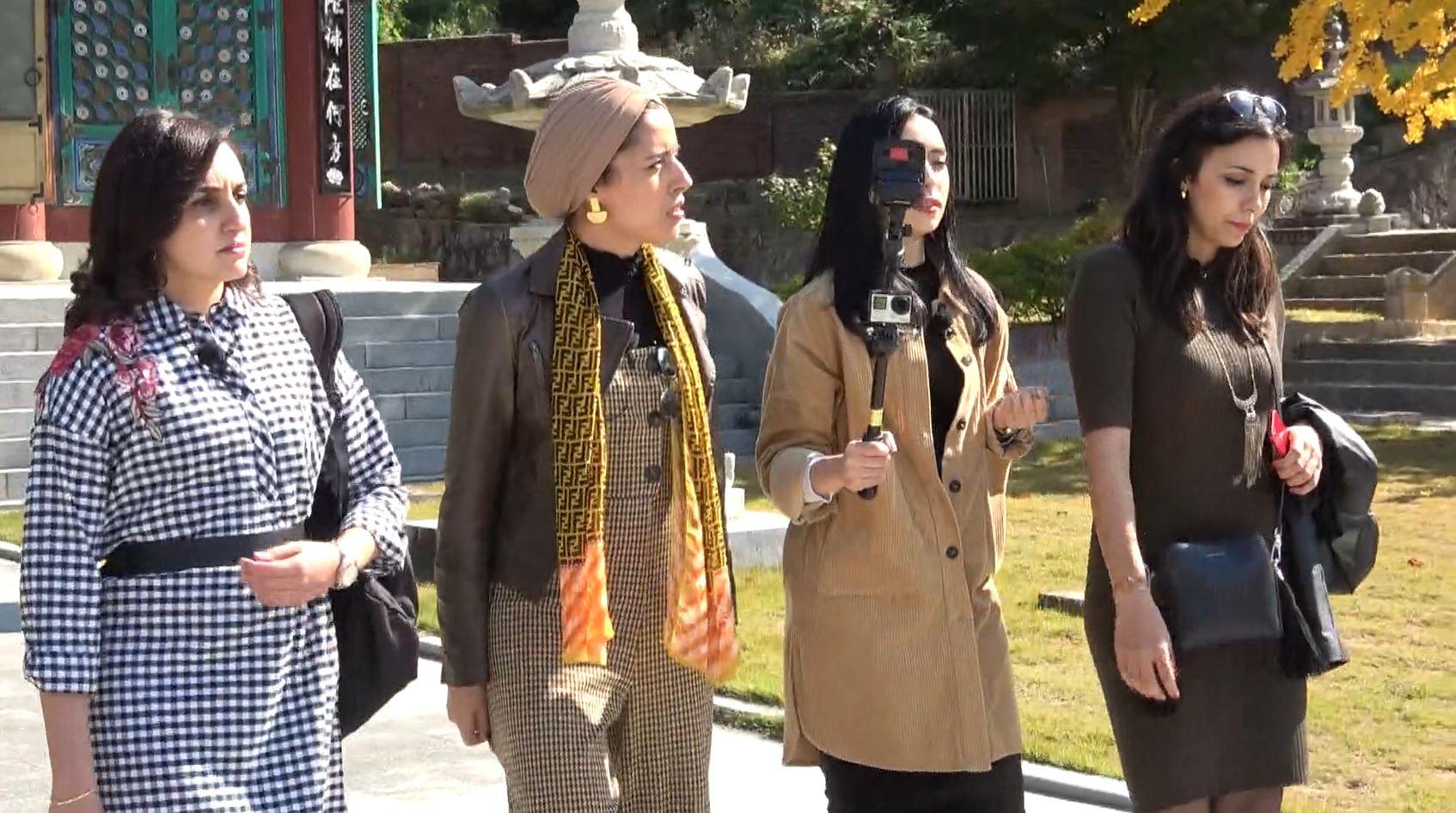 '어서와 한국은 처음이지?' 모로코 친구들의 '평화롭고 아름다운' 한국 가을 사찰 방문기