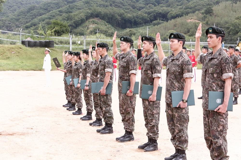 '진짜사나이300' 박재민-루카스-은서-조현 등 10人의 '명예 하사 임명식' 현장 공개