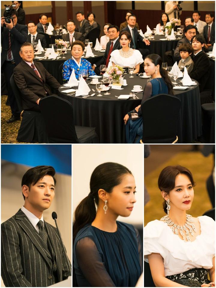 '신과의 약속' 오현경, 오윤아에 불편한 심기 드러내··· 가족 모임 속 소년의 정체는?