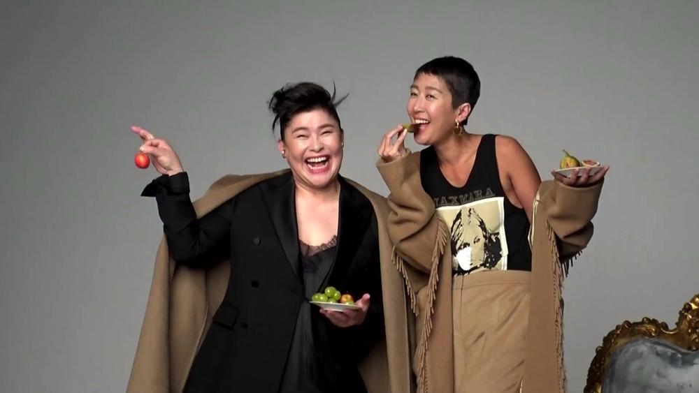 '전지적 참견 시점' 이영자, 패션 잡지 표지 촬영 중 음식 향한 애틋 눈빛 포착