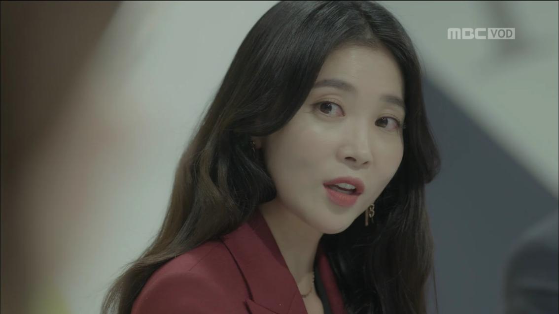'신과의 약속'오윤아, 한채영  도발하다가 '역공'