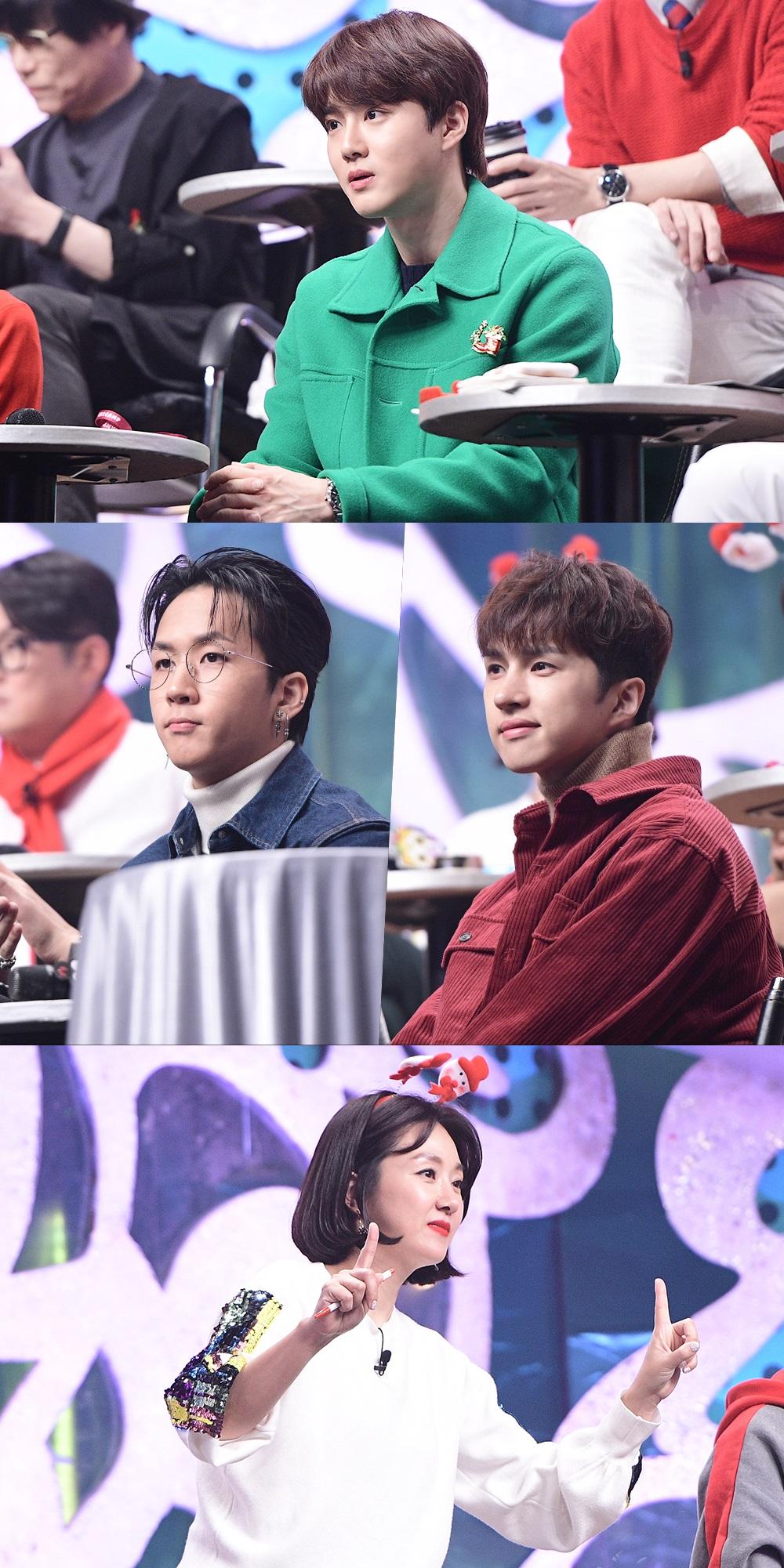 '복면가왕' 엑소 수호, '기승전 NCT 추리'에 폭소! 남다른 후배 사랑