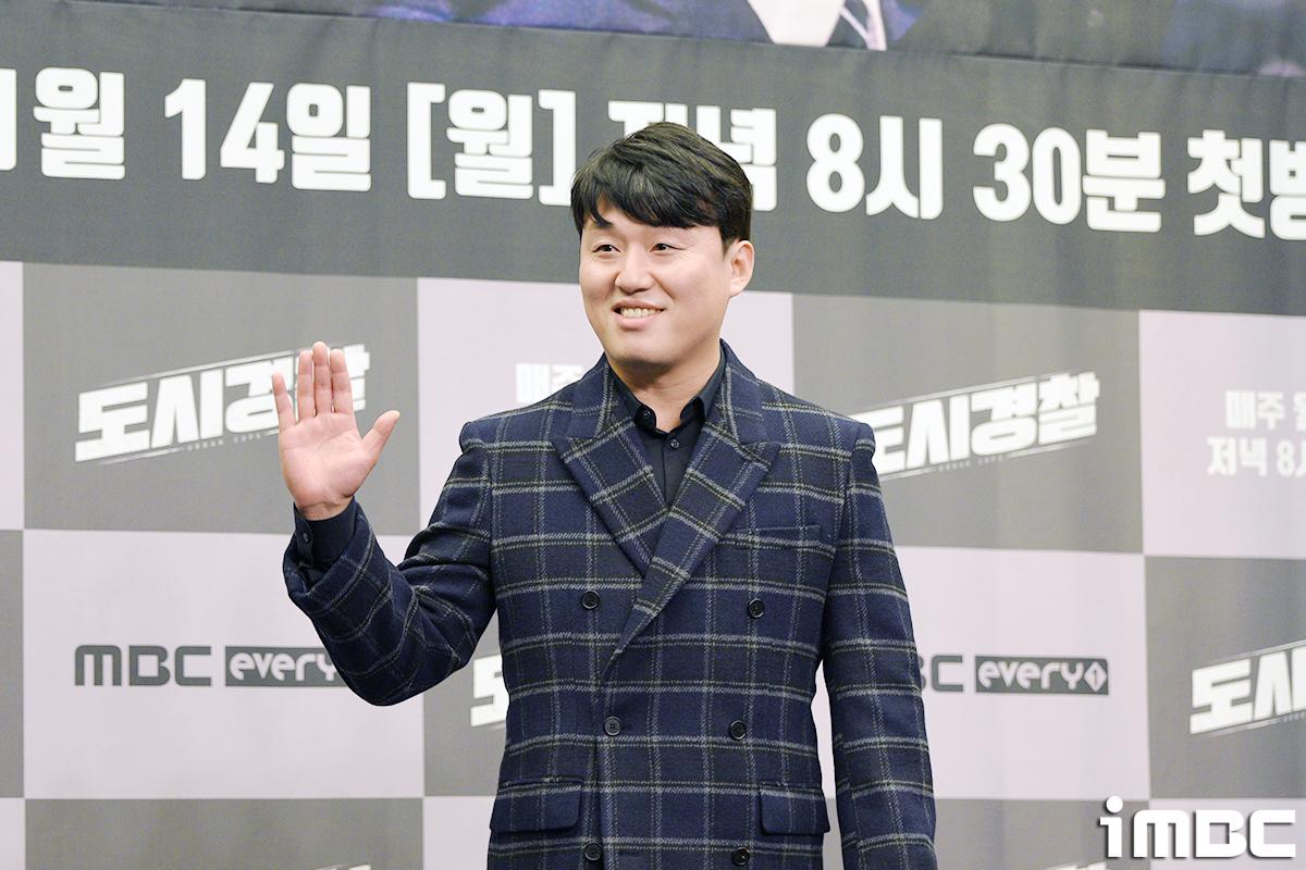 [포토] '도시경찰' 김민재, 첫 예능 도전!