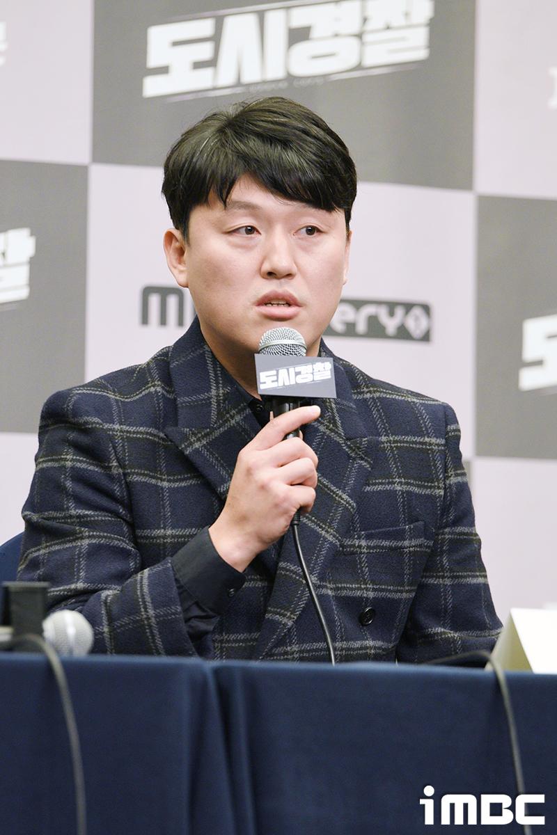 """'도시경찰' 김민재 """"너무 리얼이나 조심스럽더라. 보기와 달리 겁 많은 쫄보다"""""""