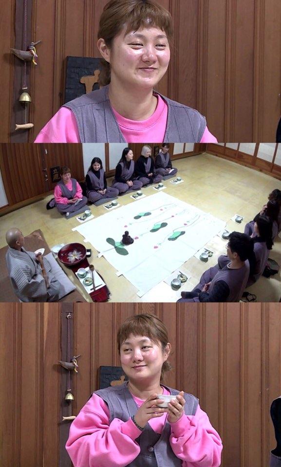 """'나 혼자 산다' 박나래, 인자한 미소에 스님 """"완전 관세음보살상같다"""""""