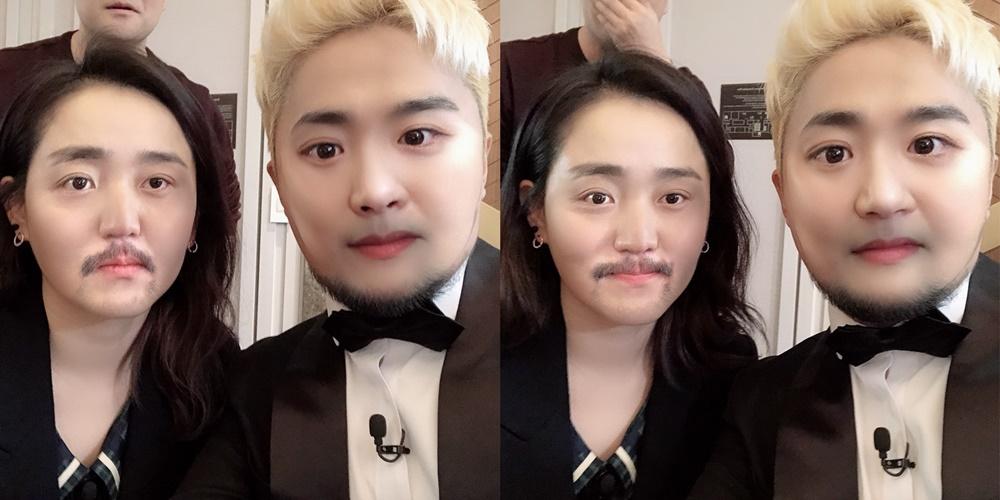 문근영-유병재, 충격의 페이스오프 셀카 공개! '선녀들' 남매케미